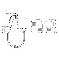 Набор смесителей Hansgrohe Logis Loop (3А151218)