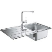 Grohe EX Sink 31573SD0 набор кухонная мойка K500 + смеситель Minta 32168000