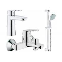 Grohe BauLoop 123215M набор смесителей для ванной M-Size