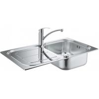 Grohe EX Sink 31565SD0 набор кухонная мойка K300 + смеситель Eurosmart 33281002