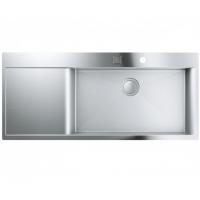 Grohe EX Sink 31582SD0 кухонная мойка K1000 с крылом слева