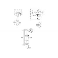 Grohe Eurosmart 123244M набор смесителей для душа M-Size