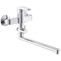 Смеситель Cersanit Vero для ванны или душа, длинный нос, S951-242