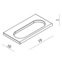 держатель для полотенца VOLLE FIESTA 15-77-334
