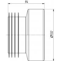 Анипласт W0210 Манжета прямая