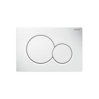 Смывная клавиша GEBERIT Sigma 01  пластик, белый (115.770.11.5)