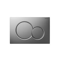 Кнопка смыва GEBERIT Sigma 01  хром матовый