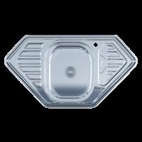 Мойка  Imperial 9550D (0,8мм) Polish 950*500