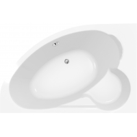 Cersanit KALIOPE 153 асимметричная ванна, левая
