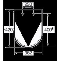 Крышка для унитаза Roca Meridian-N Compacto (A8012AC004)