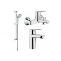 Grohe BauLoop 123214S набор смесителей для ванной S-Size (23337000+23603000+27598001)