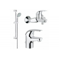 Grohe Euroeco 123226S набор для ванны 3 в 1
