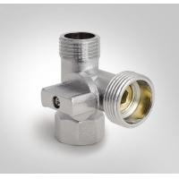 Кран для подключения бытовых приборов тройник KOER (KR.515) 1/2Mx3/4Mx1/2F