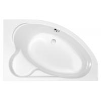 Cersanit KALIOPE 153 асимметричная ванна, правая