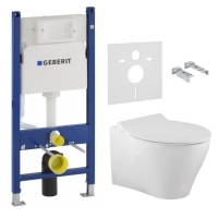 VOLLE  IBERIA RIM комплект унитаз подвесной + инсталляция Geberit Duofix
