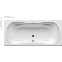 Ванна  RAVAK акриловая прямоугольная Campanula II 170 CA21000000