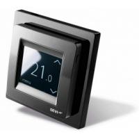 Терморегулятор сенсорный Devireg Touch черный