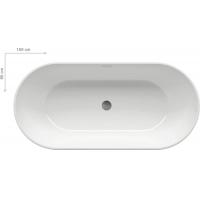 Ванна  RAVAK акриловая отдельно стоящая Freedom O 170 XC00100020