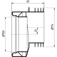 Анипласт W0410 Манжета эксцентрическая