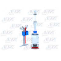 Анипласт сливной механизм для унитаза (дергалка) WC4050 Набор с боковой подводкой шток пластик эконом