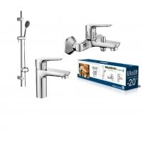 IMPRESE Набор смесителей для ванны (3 в 1) kit20080